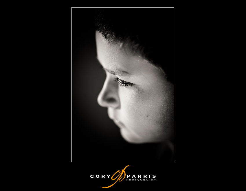This image of my amazingly handsome son was taken at f2 for the shallow depth.  Again using HSS.