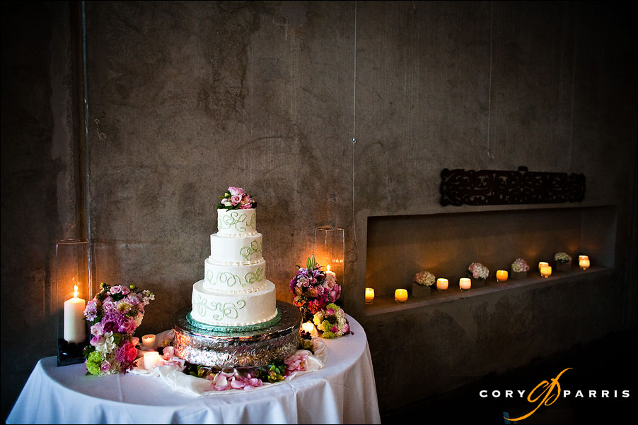 cake table at the novelty hill januik winery