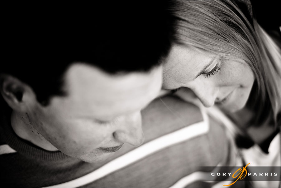engagement portrait in seattle by wedding photographer cory parris