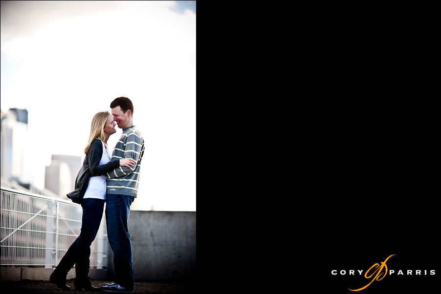 couple portrait by seattle engagement portrait photographer cory parris