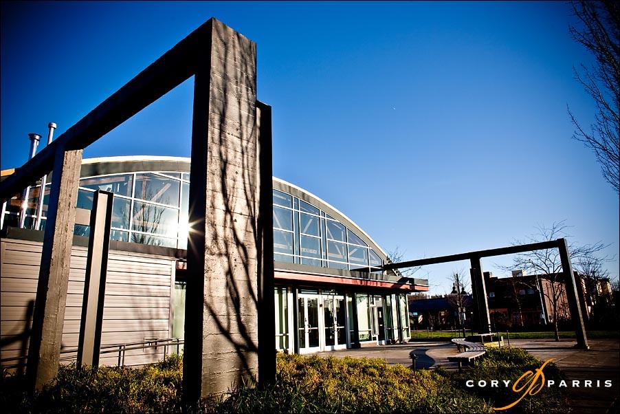 exterior view of the spirit of washington event center in renton washington