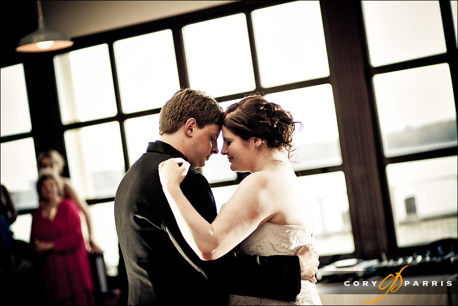 Colleen & Scott's first dance