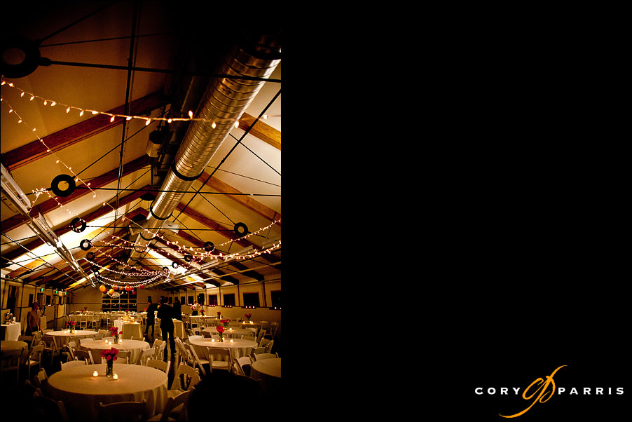 pickering barn reception area by seattle wedding photographer cory parris