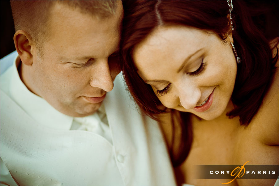 bride and groom portrait by seattle photographer cory parris