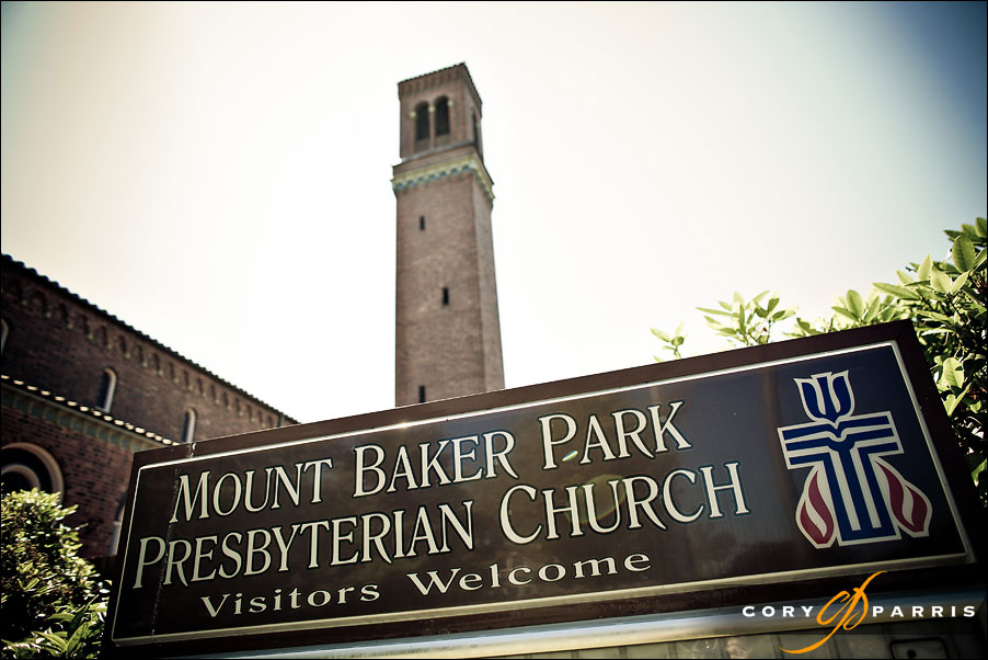 mount baker presbyterian church wedding by seattle wedding photographer cory parris