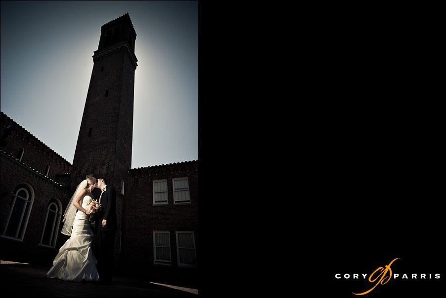 portrait by seattle wedding photographer cory parris strobist