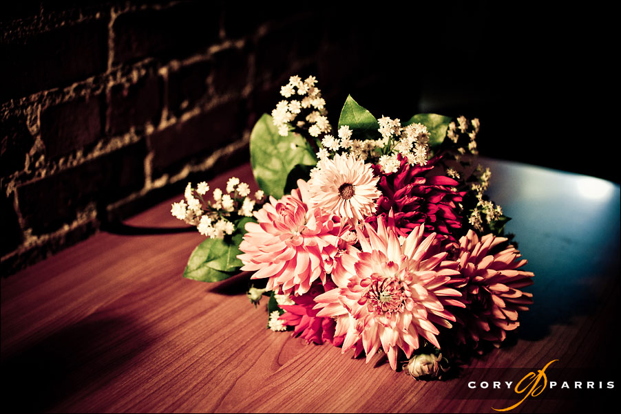 wedding flowers by seattle wedding photojournalist cory parris