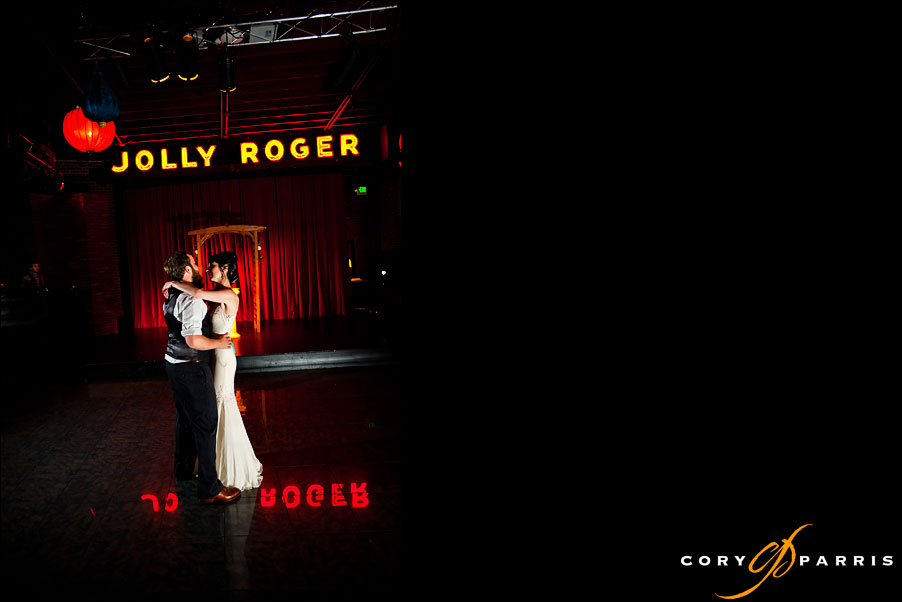 bride and groom first dance at the georgetown ballroom by seattle wedding photojournalist cory parris