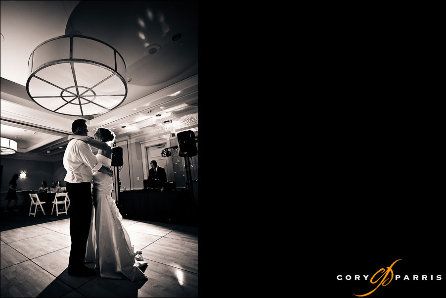 wedding couple first dance by seattle wedding photojournalist cory parris