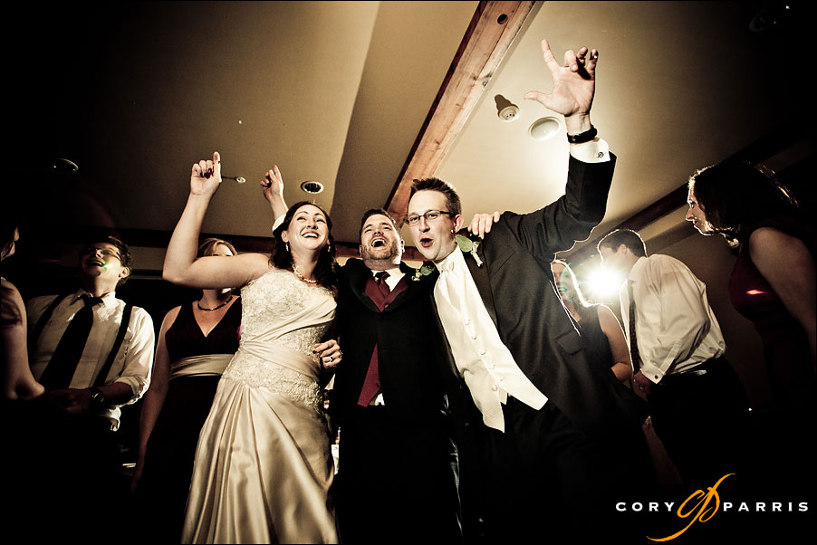 bride and groom dancing at wedding at woodinville's willows lodge