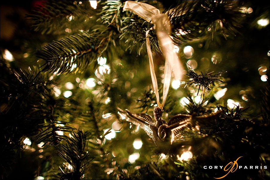 angel ornament by seattle wedding photographer cory parris
