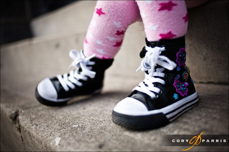 cute little girl's boots seattle portrait photographer cory parris