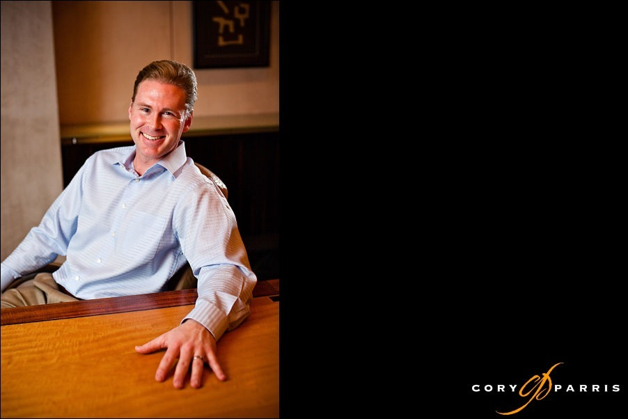 executive portrait by seattle portrait photographer cory parris
