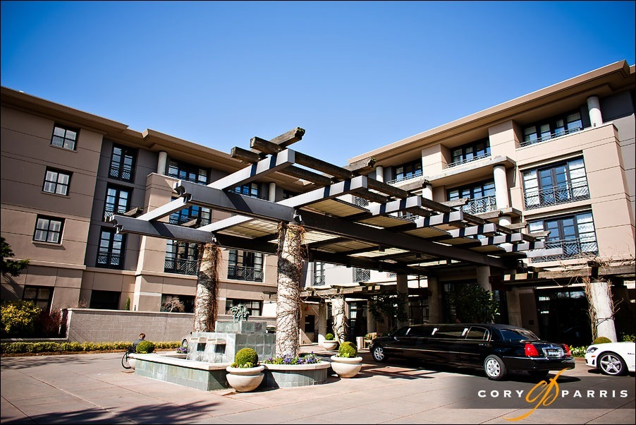 hotel bellevue formerly bellevue club exterior view by bellevue wedding photographer cory parris