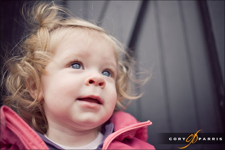 beautiful little girl in antique portrait by cory parris
