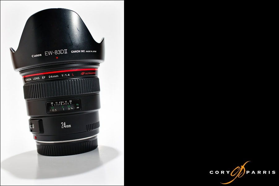 Canon 24mm 1.4L lens review by seattle wedding photographer cory parris