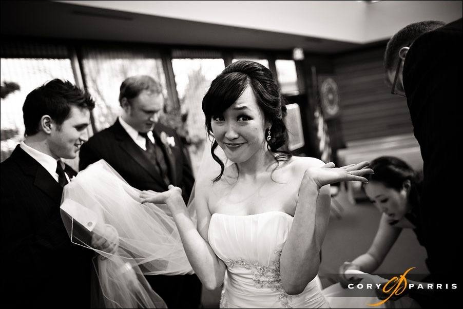 bride after wedding by seattle wedding photographer cory parris