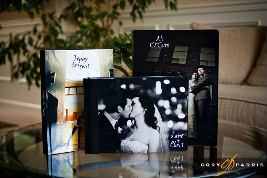 wedding album covers and design by seattle wedding photographer cory parris