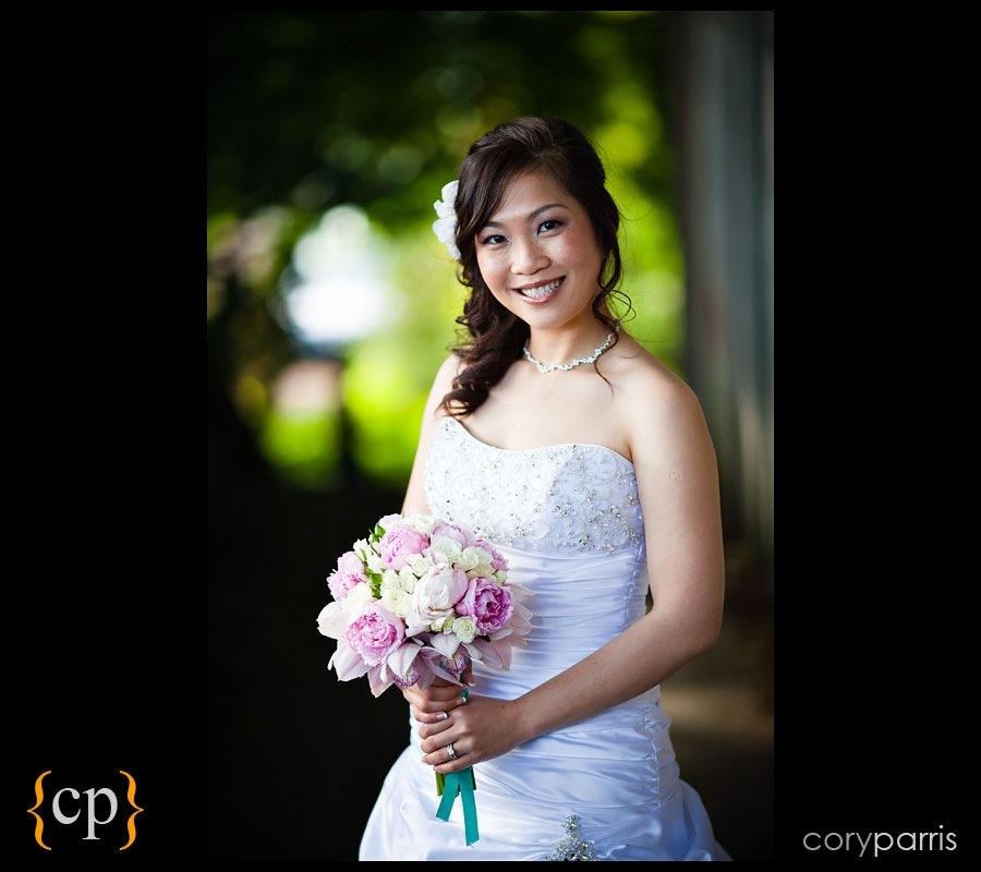 bridal portrait by seattle wedding photographer cory parris