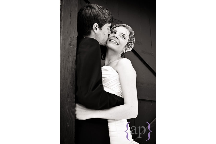 bride and groom portrait by seattle wedding photographer alyssa parris