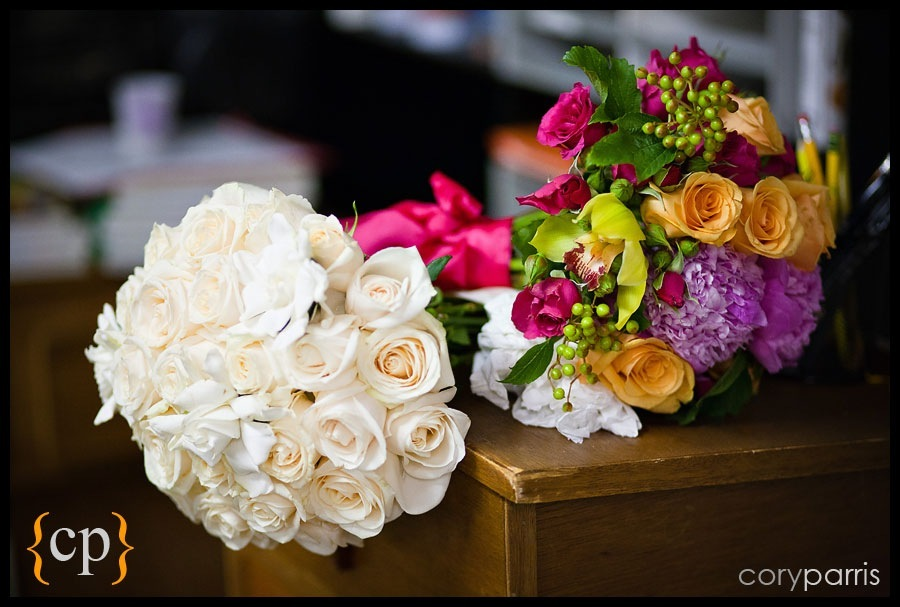 wedding bouquets by seattle wedding photographer cory parris