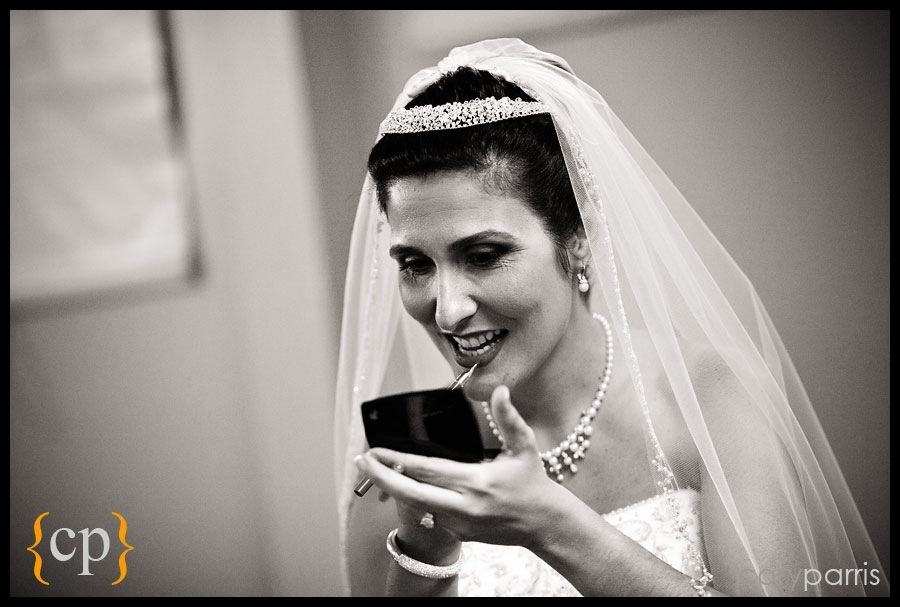 bride getting ready by seattle wedding photojournalist cory parris