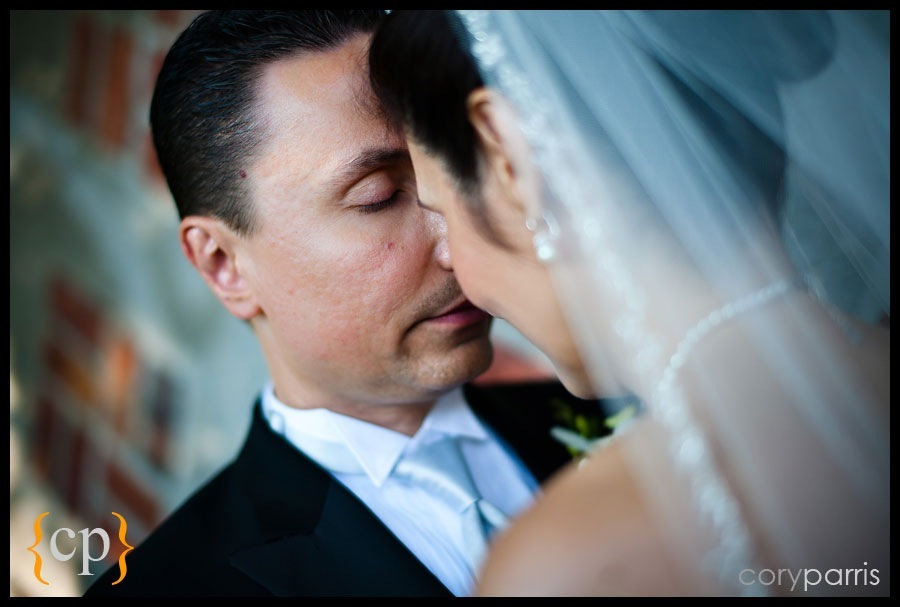 bride and groom portraits in seattle by seattle wedding photographer cory parris