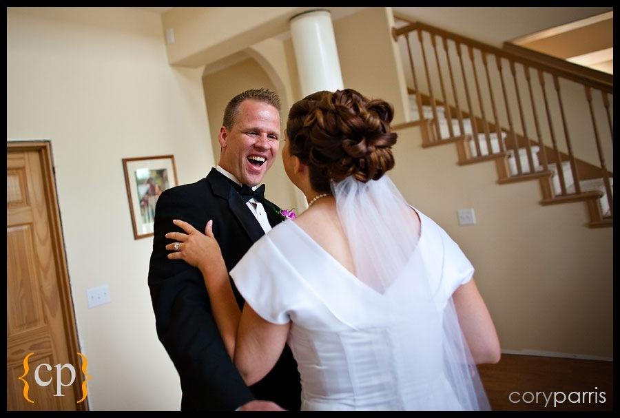 backyard wedding in granite falls by seattle wedding photographer cory parris - 12