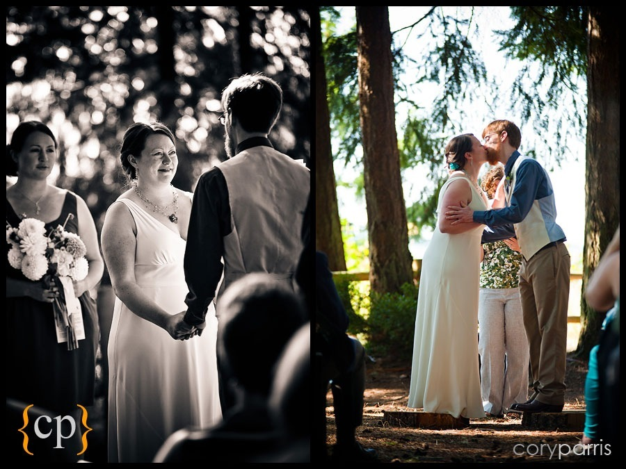 wedding at kitsap memorial park by seattle wedding photographer cory parris
