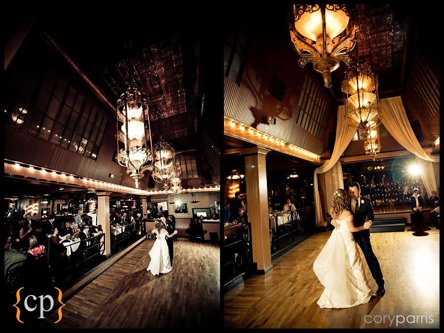 first dance by seattle wedding photographer cory parris