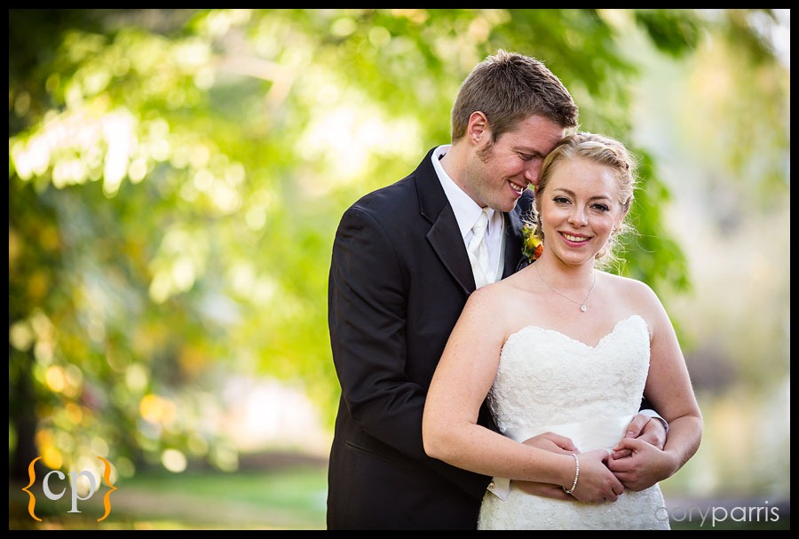 wedding portrait at the Washington Park Arboretum