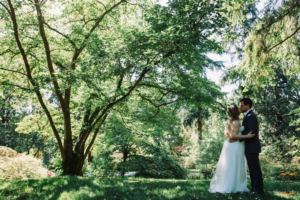 Washington Park Arboretum wedding