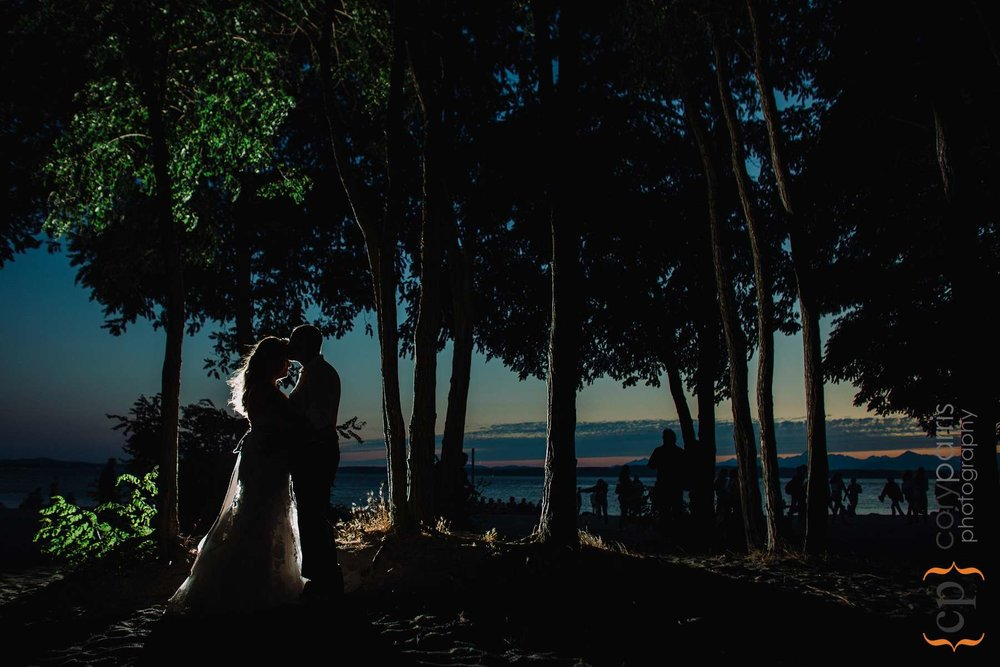 Brandon and Morada's wedding photography at Golden Gardens