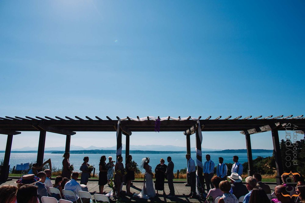 Ceremony at Richmond Beach Park