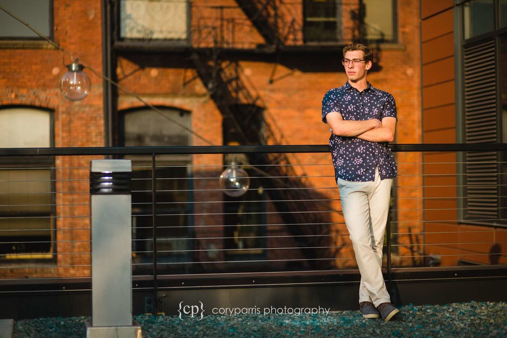 Brennan - Senior portraits in Seattle