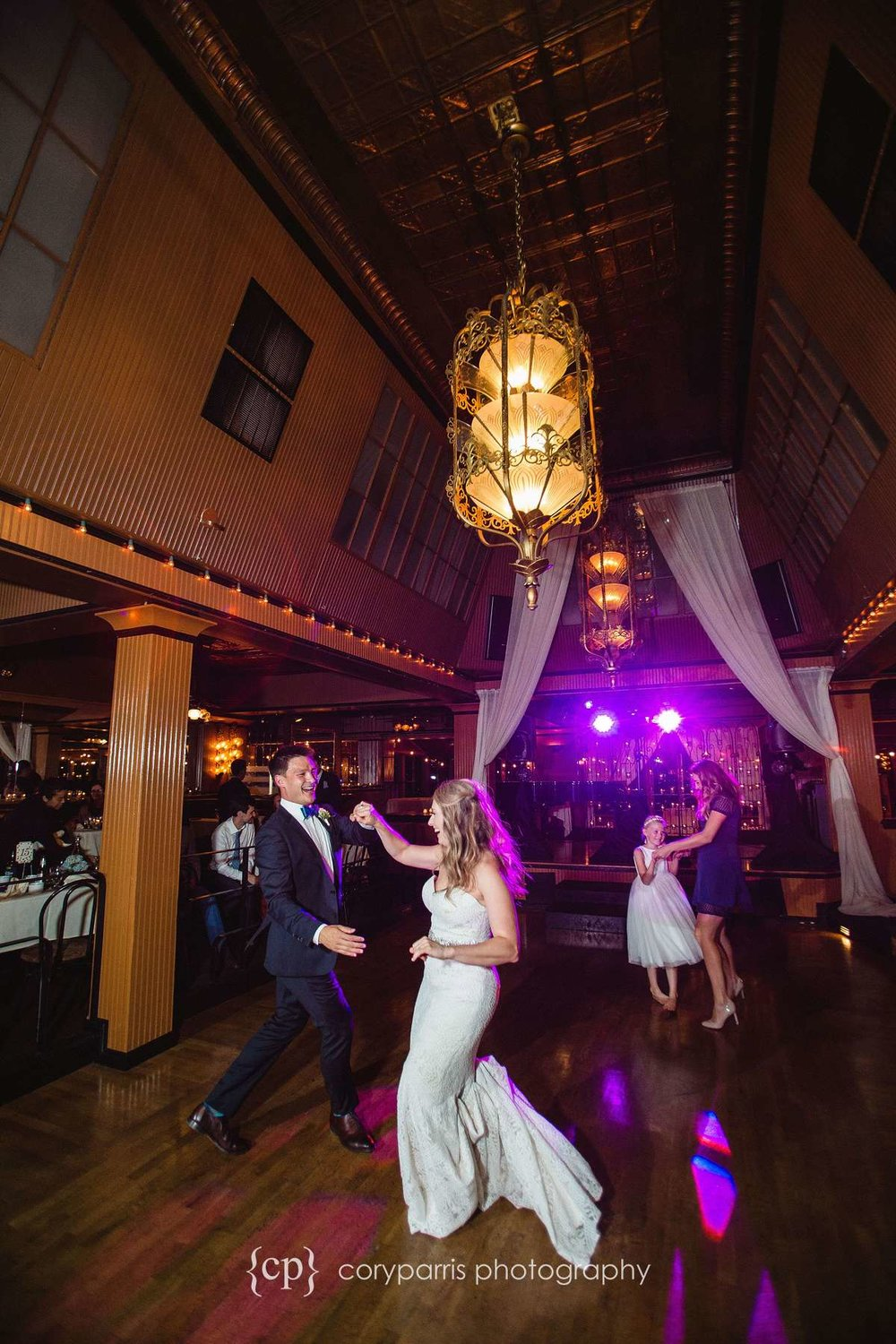 Lake Union Cafe wedding Reception