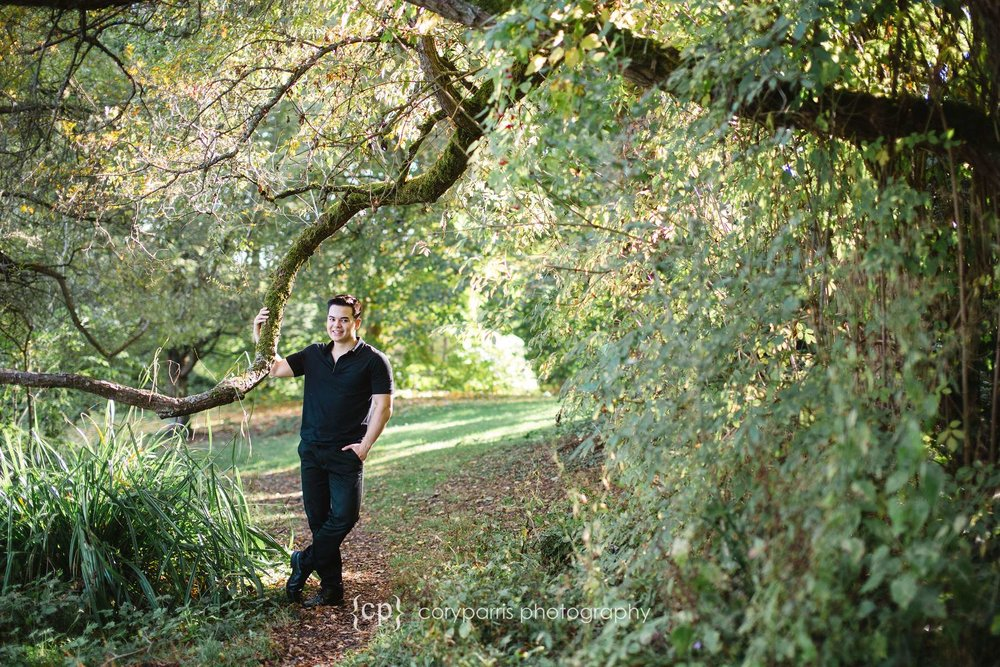 Washington Park Arboretum Woodinville High School Senior Portraits