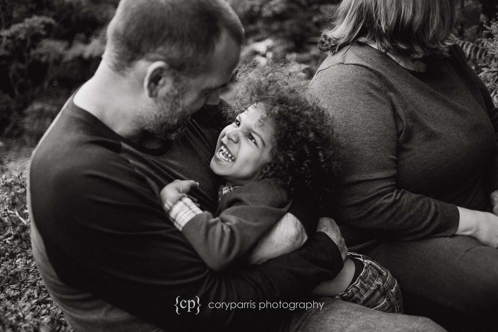 Father and child portrait photography bellevue