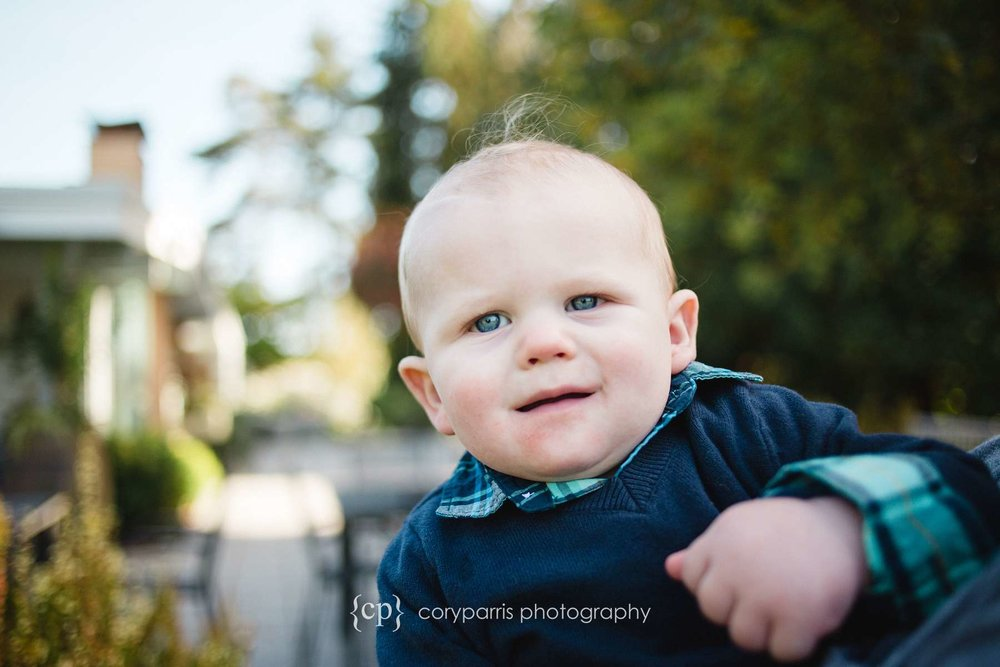 baby portrait in bellevue