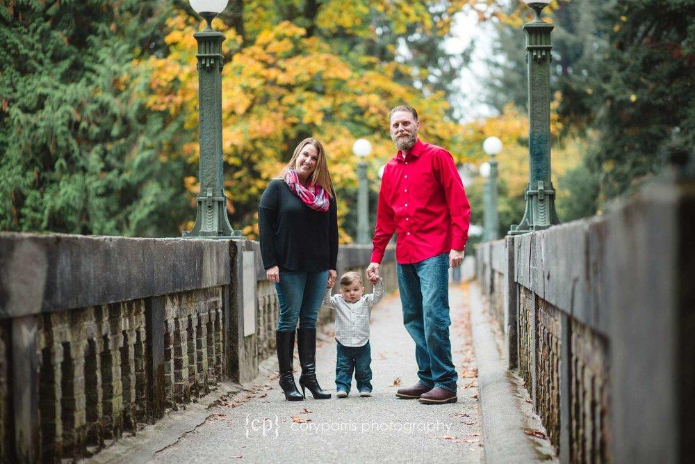 Family Photography Portrait at the Washington Park Arboretum