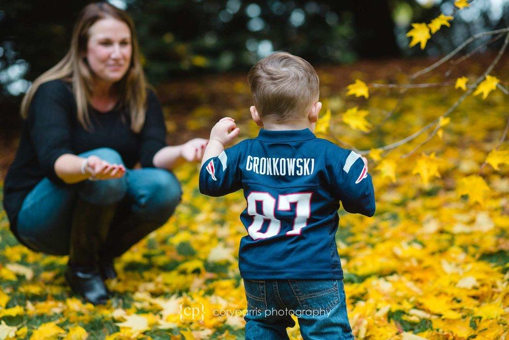 Gronkowski child portrait photography