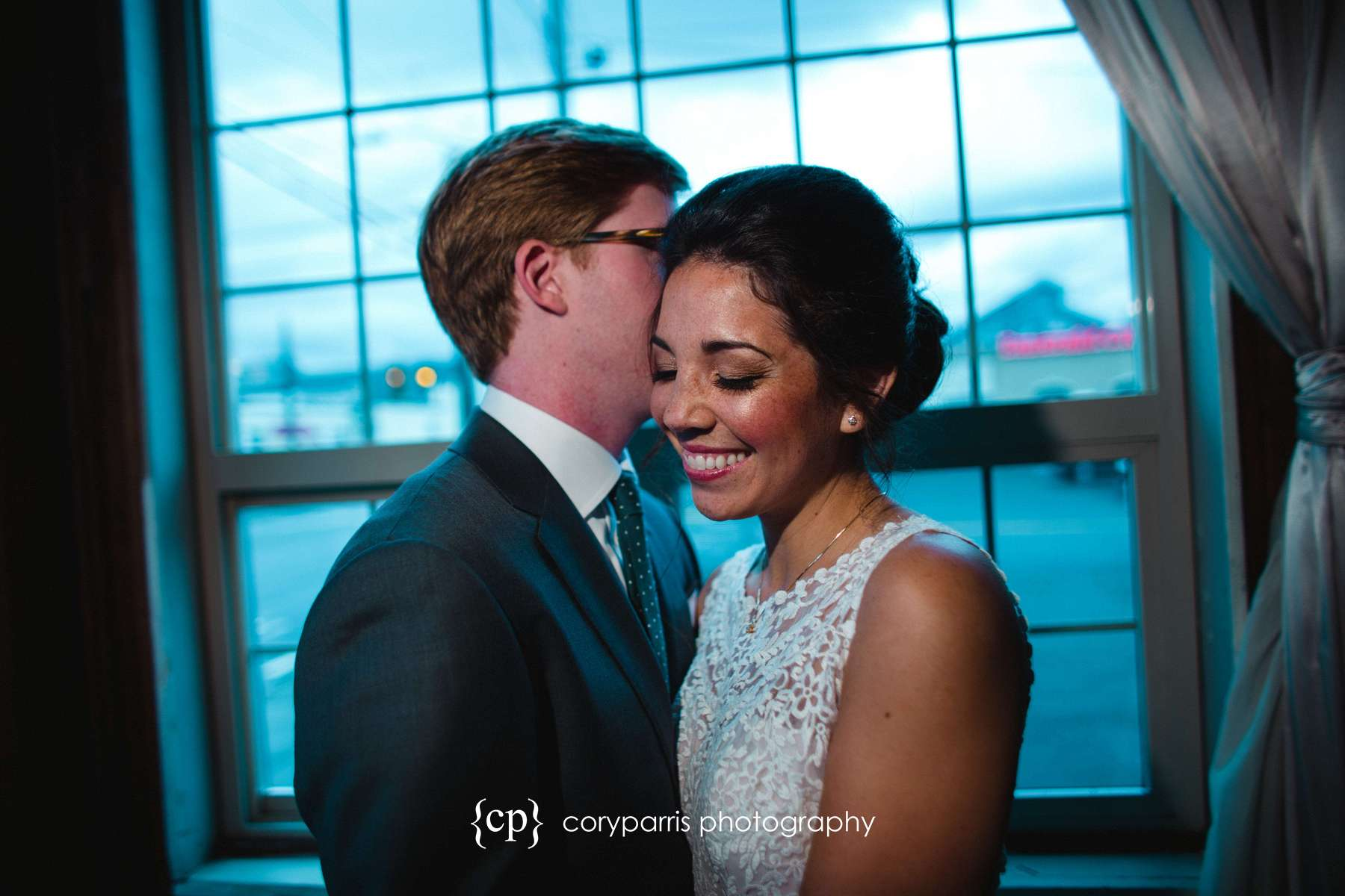 Amy & Kevin | SODO Park Wedding in Seattle - Cory Parris Photography