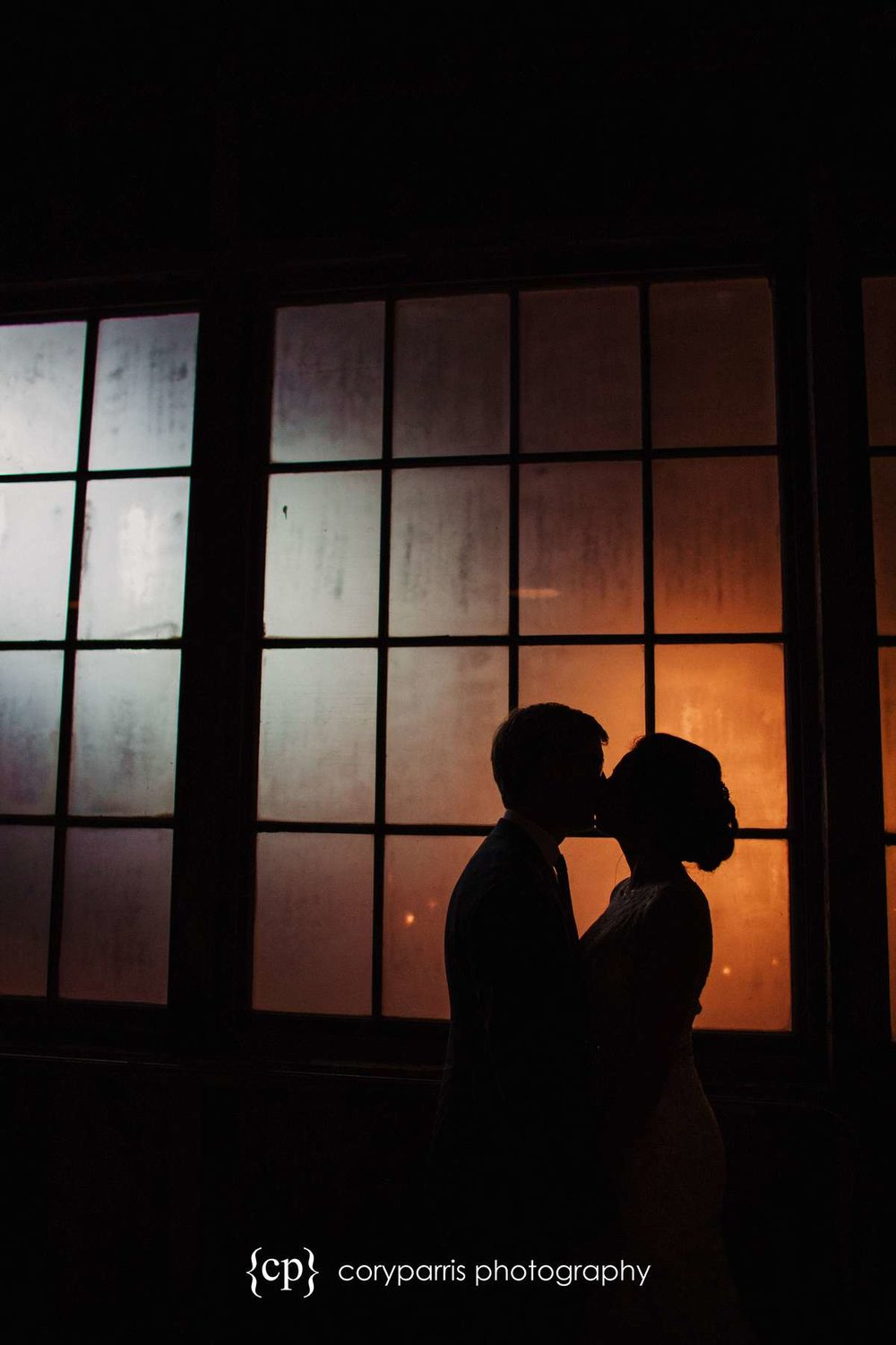 Incredible window for silhouette portrait
