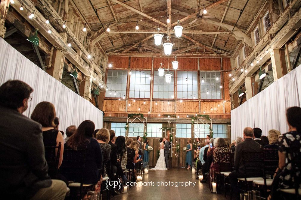 Wedding ceremony at SODO Park