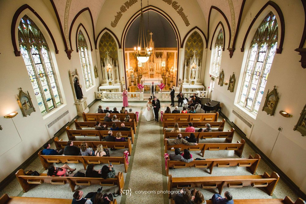 St. Anne chapel wedding