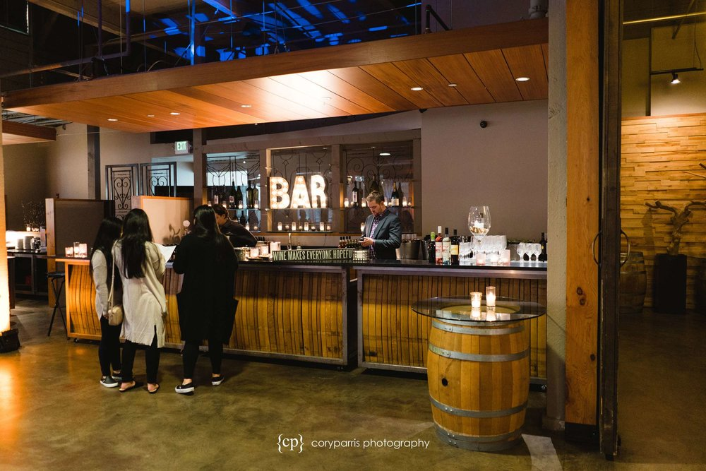 The bar area at The Foundry