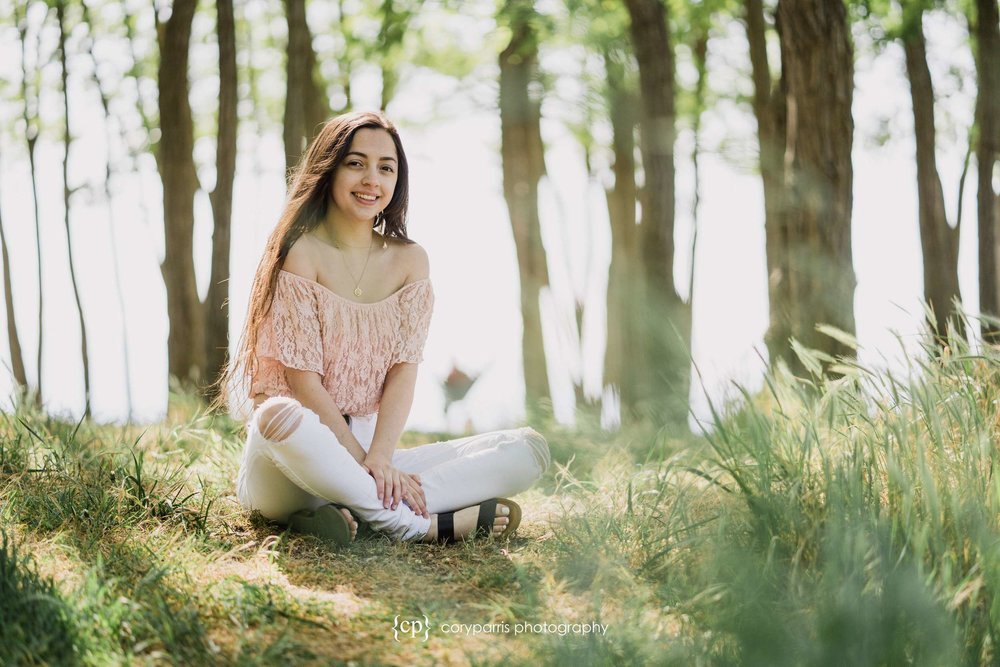 Alyssa's senior portraits at Golden Gardens in Seattle!