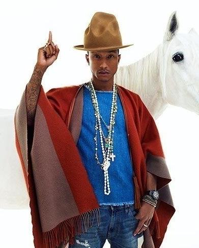 Pharrell Williams - Venus in Aries