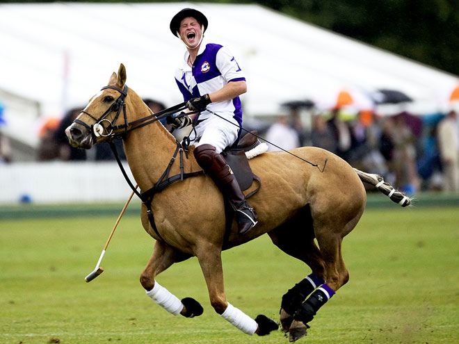 Prince Harry - The Mustang
