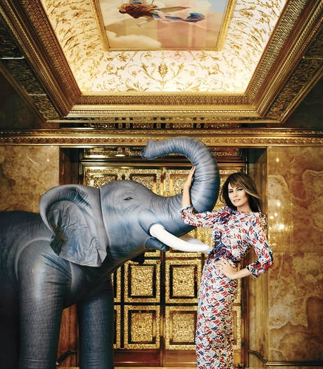 Melania Trump - The Luxurious